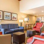 Comfort Inn & Suites Rocklin - Roseville lobby seating